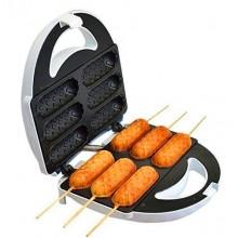 Аппарат для приготовления хот-догов и сосисок на палочке Domotec тостер MS-0880 Hot Dog Maker