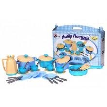 Игровой набор посуды ТехноК Синий