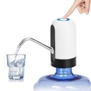Помпа для воды электрическая на бутыль автоматическая с аккумулятором Water Dispenser