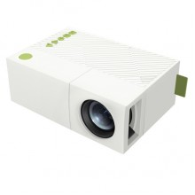 Проектор портативный Projector YG-310 с динамиком Белый
