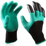 Перчатки садовые с когтями Garden Genie Gloves для сада и огорода
